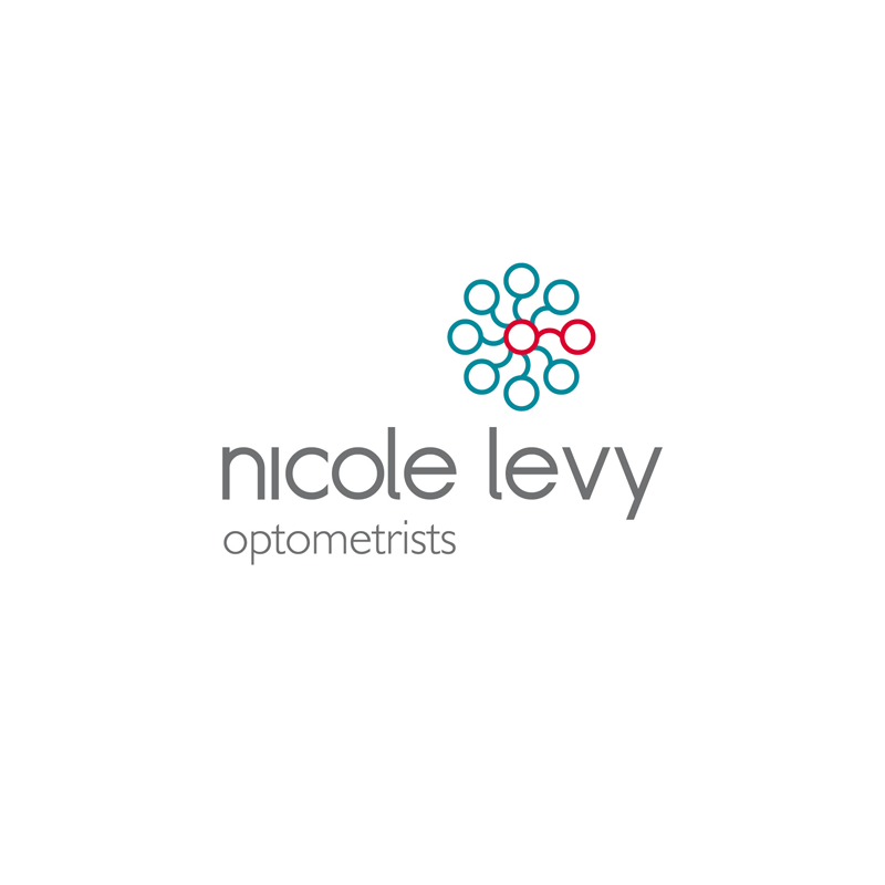 Brand Identity, Marketing Material, In-Store Branding & Decor Elements for Nicole Levy Optometrists